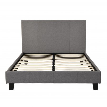 chester double bed - grey fabric (2)